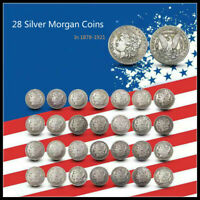 COLLECTING COINS US COIN LOT, UNCIRCULATED MORGAN SILVE COIN1878-1921