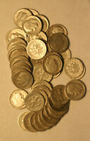 ROLL OF 1949S ROOSEVELT DIMES  50 PIECES