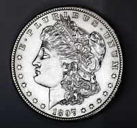 1897-S MORGAN SILVER DOLLAR. HIGH GRADE. INV.A