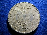 1903 MORGAN SILVER DOLLAR - MOSTLY BRIGHT, LUSTROUS EXTRA FINE    READ
