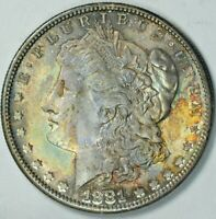 1881 S MORGAN DOLLAR BU UNCIRCULATED DETAILS MINT STATE UNC MS