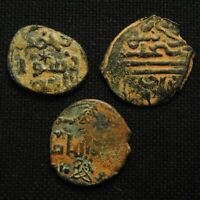 THREE EARLY ISLAMIC 'S TOTAL WEIGHT 10.68 GRAMS