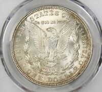 1921 P MORGAN DOLLAR  PCGS MS 63 GLOWING WHITE COIN