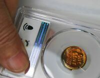 1952 LINCOLN CENT PCGS PF 65  2 SIDED RAINBOW WITH CAMEO DEVICES