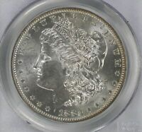 1880 O MORGAN DOLLAR PCGS MS 62   VAM 15A TOP POP ONLY KNOWN MS EXAMPLE