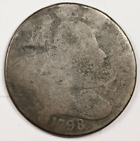1798 LARGE CENT.  CLEAR DATE.   158506