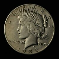1935-S $1 PEACE SILVER DOLLAR SAN FRANCISCO MINT UNITED STATES COIN