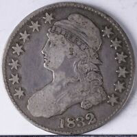 1832 CAPPED BUST HALF VG SMALL LETTERS