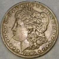 1896 S MORGAN SILVER DOLLAR APPEALING CIRCULATED  TOUGHER DATE