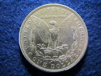 1884 MORGAN SILVER DOLLAR - BRILLIANT AND WELL STRUCK  CHOICE AU/BU  READ