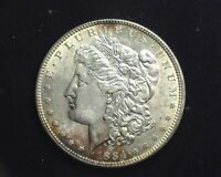 HS&C: 1884 MORGAN SILVER DOLLAR BU - US COIN