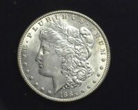 HS&C: 1884 MORGAN SILVER DOLLAR BU CHOICE - US COIN