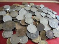 JOB LOT OF ALL BRITISH ANTIQUE/VINTAGE COINS WITH SILVER  RE