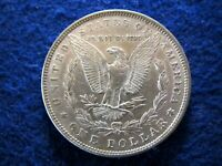1883 MORGAN SILVER DOLLAR - WELL STRUCK LUSTROUS ABOUT UNCIRCULATED  READ