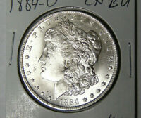 CHOICE BU 1884-O MORGAN SILVER DOLLAR UNCIRCULATED NEW ORLEANS COIN 5721