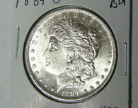 BU 1884-O MORGAN SILVER DOLLAR UNCIRCULATED NEW ORLEANS COIN 5821-1