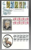 US FDC FIRST DAY COVERS  COLLECTION WITH BOOKLET PANE    LOT