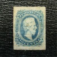 NYSTAMPS US CSA CONFEDERATE STAMP  11 MINT OG H $16   M28X10
