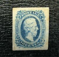 NYSTAMPS US CSA CONFEDERATE STAMP  11B MINT OG H $23   M28X1