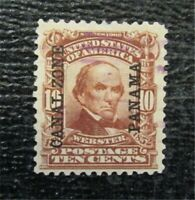 NYSTAMPS US CANAL ZONE STAMP  8 USED $90   M28X1096