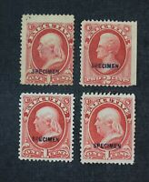CKSTAMPS: US STAMPS COLLECTION SCOTTO10S O11S UNUSED H NG SP