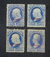 CKSTAMPS: US STAMPS COLLECTION SCOTTO35S O36S UNUSED H NG 2