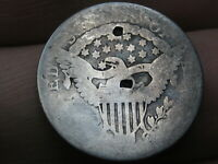 1802 DRAPED BUST SILVER DIME-