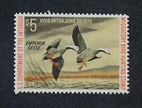 CKSTAMPS: US FEDERAL DUCK STAMPS COLLECTION SCOTTRW39 $5 MIN