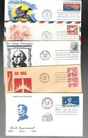 US FDC FIRST DAY COVERS  COLLECTION  FROM 1960 'S   LOT OF 3