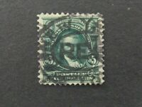 NYSTAMPS US STAMP  313 USED $800 E20YE