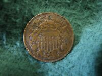 1868  U.S. TWO CENTS COIN   2 CENTS COIN