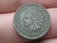 1884 INDIAN HEAD CENT PENNY- VF/EXTRA FINE  DETAILS