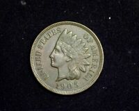 HS&C: 1905 INDIAN HEAD PENNY/CENT EXTRA FINE  - US COIN