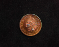 HS&C: 1881 INDIAN HEAD PENNY/CENT PROOF - US COIN