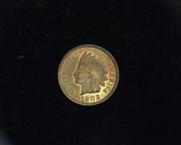 HS&C: 1903 INDIAN HEAD PENNY/CENT BU-CHOICE RED - US COIN