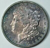 1891 S MORGAN SILVER DOLLAR $1 MINT STATE UNCIRCULATED MS UNC TONED