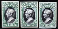 U.S. SCOTT  O68P4   O70P4 STATE DEPARTMENT OFFICIAL PROOF STAMPS