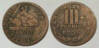 MAGNIFICENT     1739 DATED COLONIAL COIN     NICE