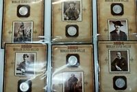 LOT OF 15 1879-1898 MORGAN SILVER DOLLAR BOOK COINS & STAMPS L151