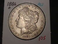 1886-O MORGAN DOLLAR AU  BETTER DATE COMBINED SHIPPING
