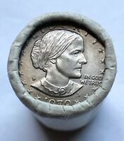 25 PIECE ROLL 1979 P SUSAN B. ANTHONY DOLLARS UNCIRCULATED 1
