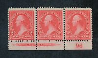 CKSTAMPS: US STAMPS COLLECTION SCOTT265 STRIP UNUSED NG
