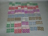 NYSTAMPS S MINT NH US FAMOUS AMERICAN STAMP BLOCK COLLECTION