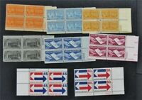 NYSTAMPS US SPECIAL DELIVERY PLATE BLOCK  E16 E23 MINT OG NH