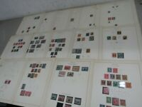 NYSTAMPS G OLD US STAMP COLLECTION SCOTT PAGE SCV $1400