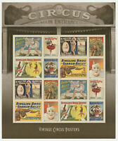 US 4905B MNH VINTAGE CIRCUS POSTERS IMPERF