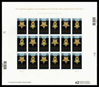 US 4822A 23A MNH IMPERF MEDAL OF HONOR DATED 2014   PANE OF
