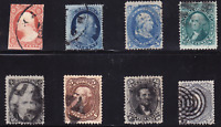 US COLLECTION: 8 OLD CLASSICS WITH 11 24 63 68 73 76 77 78B