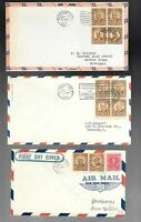US FDC FIRST DAY COVERS   684 685 COLLECTION HARDING TAFT 19