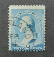 NYSTAMPS US STAMP  213 USED ERROR COLOR  S10X022